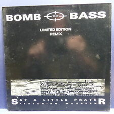 "MAXI 12"" BOMB THE BASS Say a little prayer Featuring MAUREEN 80422 Limited editi"