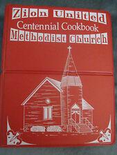 Zion United Methodist Church Centennial Cookbook Spencer Iowa