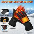 Winter Electric Heated Gloves Battery Powered Hand Warm Windproof Motorcycle Ski <br/> Outdoor Sports/USB Rechargeable/Touch Screen Waterproof
