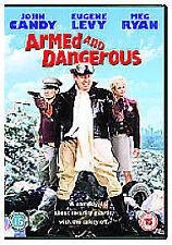 ARMED AND DANGEROUS  DVD JOHN CANDY MEG RYAN -  NEW/SEALED REGION 2 UK