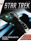 *#62 STAR TREK STARSHIPS COLLECTION VOTH RESEARCH VESSEL ENTERPRISE WARS