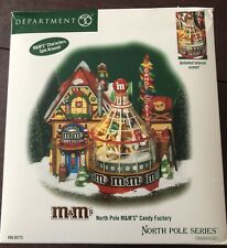 Dept 56 2004 North Pole M&M'S Candy Factory #56.56773 Lighted/ Animated Retired