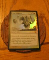 1x FOIL Final Judgment, LP,  Betrayers of Kamigawa, EDH Commander Exile Removal