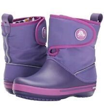 New Crocs Youth Girls' Crocband II.5 Gust Winter Boots Size C 13