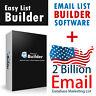 2 Billion Database Marketing List + Email List Builder Software + FAST 6 HOURS