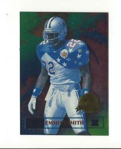 1996 CE President's Reserve Tanned Rested Ready #5 Emmitt Smith Cowboys