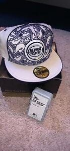 Brand New New Era Detroit Pistons Collectors Cap With Cap Brush