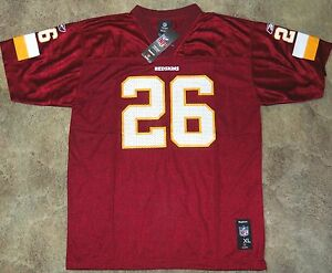 #26 REDSKINS CLINTON PORTIS REEBOK JERSEY YOUTH SIZE X-LARGE (18/20) NWT