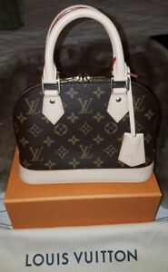 LOUIS VUITTON Alma BB Bag *BRAND NEW IN BOX Authentic with Tags/paperwork