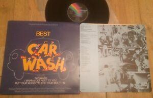 "ROSE ROYCE/SOUNDTRACK:""BEST OF CAR WASH"".1977 MCA+PHOTOS INNER SLEEVE.NEAR MINT!"