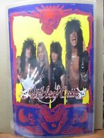 """THE FINAL TOUR/""""; 12x18 Framed Vintage Style Rock /'n/' Roll Poster /""""MOTLEY CRUE"""
