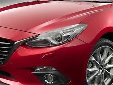 Genuine Mazda 3 SP25 GT Headlight Protectors Headlamp Covers BM Model 2013-2016