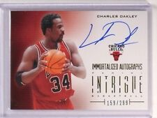 2012-13 Panini Intrigue Immortalized Charles Oakley Autograph #D159/299 #53 *507