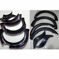 BLACK FENDER FLARES FLARE WHEEL ARCH FIT FORD RANGER PX2 MK2 T6 WILDTRAK 15-18