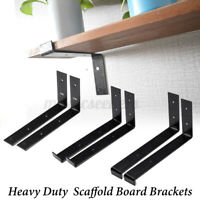"2Pcs DIY Shelf Brackets 9.5""X5"" Retro Style Wall Mount Floating Boards  W ♡ ‡"