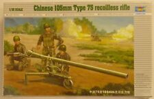 Trumpeter 1/35 105mm Type 75 Recoilless Rifle Gun W Figures Model Kit