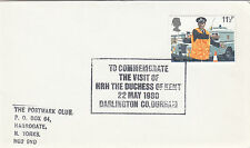 (33729) GB CLEARANCE Cover HRH Duchess of Kent Darlingtin 22 May 1980