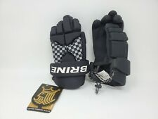 """Brine Lopro Prodigy Lacrosse Hockey Glove New With Tags Small 10"""" Junior"""