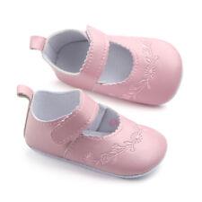 0-12m Meses Recién Nacido Bebé Cuna ZAPATOS DE COCHECITO INFANTIL SUELA BLANDA