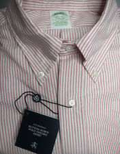 Brooks Brothers Button Down Oxford Shirt ~ Milano Fit 15.5 x 31 NWT USA $140 New