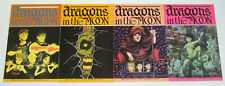 Dragons in the Moon #1-4 VF/NM complete series - aircel comics 2 3 set lot 1990