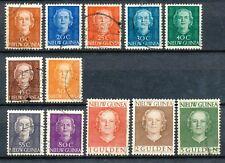 Nederlands Nieuw Guinea 10 - 21 gebruikt (1)