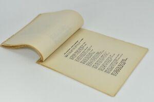 19th Century Manuscript Collection Original Poems Pres. James Garfield Memorial