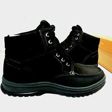 Rockport Mens 9.5 World Explorer MocToe Hydroshield Waterproof Black Ankle Boot