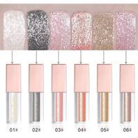 30g Eyeshadow Liquid Waterproof Glitter Eyeliner Gel Shimmer Makeup Cosmetics $