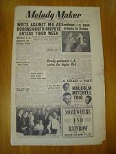 MELODY MAKER 1950 JUN 17 FRANK SINATRA JACK NATHAN JAZZ