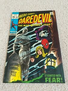 Daredevil  54  FVF  7.0  High Grade  Amazing Spider-man  Mister Fear  Karen Page