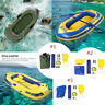 PVC 1-2 Person Fishing Swimming Water Sports Inflatable Boat Kayak Canoe Raft