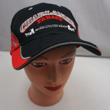 Charlanne Farms Amish Country Hat Black Adjustable Baseball Cap Pre-Owned ST36