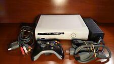 1366 Xbox 360 console white 20GB model September 2006 + accessories