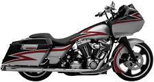 SuperTrapp Kerker 168-71574 Chrome 2-into-2 True Dual Headpipes 86-08 Harley FL