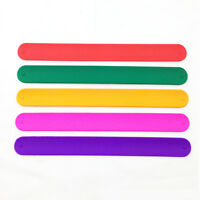 1PC Children Soft Silicone Flexible Slap Wrap Bracelet Wristband Boys Girls Gift