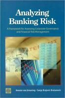 Analyzing Banking Risk : A Framework for Assessing Corporate Governance and Fina