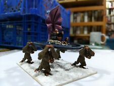 RAL PARTHA PAINTED EVIL WIZARD PALANQUIN - JOE DEVER COLLECTION