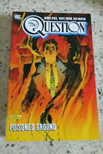 THE QUESTION POISONED GROUND TPB DC COMICS VERY RARE OOP