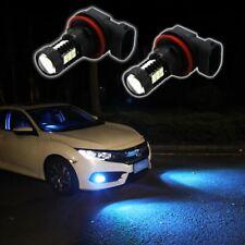 2pcs 3535-SMD H11 H8 10000K LED Light Bulbs Fits Driving DRL Fog Lights Ice Blue