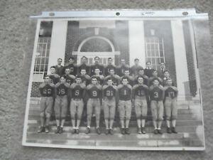 Vintage 1934 Granville High School Football Team Photograph