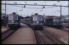 35mm slide+© SBB CFF FFS 11609+11689+1480 Luzern Switzerland 1981 original