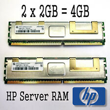 4GB HP Infineon (2x 2GB) Server RAM DDR2 PC2-5300F ECC Fully Buffered 398707-551