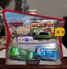 Disney Pixar Cars Toys R Us Ex. WOC Movie Doubles Dinoco Chick & Chick Hicks