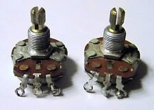 1967 Gibson Potentiometer Pair 500k CTS For Les Paul SG Es335 Barney Kessel TWO