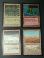 MTG Bayou, Tundra, Scrubland, Volcanic Island REPACK Collectors Edition 89 total