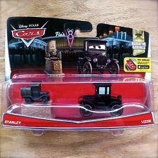 Disney PIXAR Cars LIZZIE & STANLEY (STATUE) diecast RADIATOR SPRINGS Theme 14/14