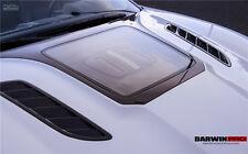 Jaguar F Type IMP Style Hood Bonnet W/ Glass Engine Reveal & Carbon Fiber Vents