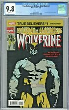 True Believers: X-Men Wild Child #1 CGC 9.8 Wolverine Reprint Marvel Presents 51