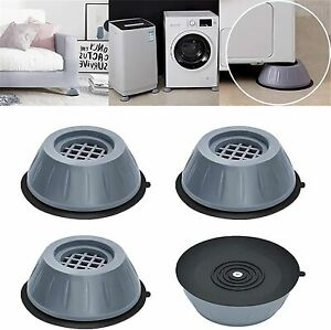 4 x Piedini antiscivolo per Lavatrice e asciugatrice in gomma Anti Vibrazione